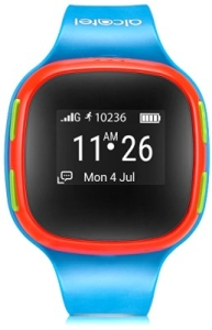 Умные часы Alcatel Movetime Track Talk SW10 (Blue-Red)