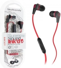 Наушники Skullcandy INK'D 2.0 with Mic (Black-Red)