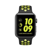 Умные часы Apple Watch Series 2 42mm with Nike Sport Band (Black)