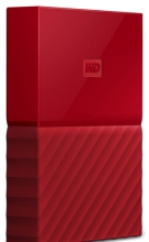 Внешний жёсткий диск Western Digital My Passport 4TB (Red) (WDBUAX0040BRD-EEUE)