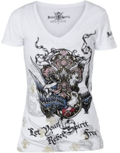 Майка Rebel Spirit GSSV120596 XL (White)