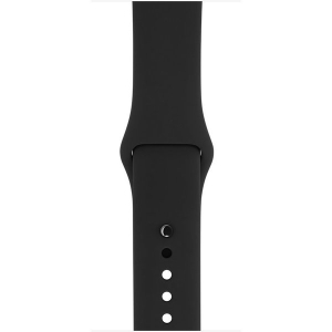 Умные часы Apple Watch Series 1 38mm Space Gray with Black Sport Band