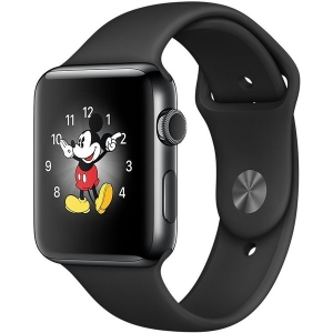 Умные часы Apple Watch Series 2 38mm Space Black with Black Sport Band