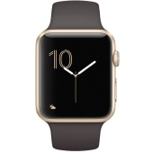 Умные часы Apple Watch Series 1 42mm Gold with Cocoa Sport Band