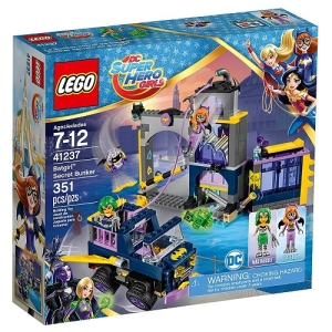 Конструктор Lego DC Super Hero Girls 41237 Секретный бункер Бэтгёрл