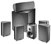 Комплект акустики Definitive Technology ProCinema 600 System
