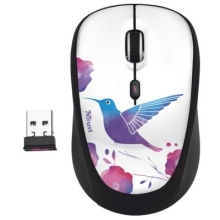 Мышь Trust Yvi Bird White USB