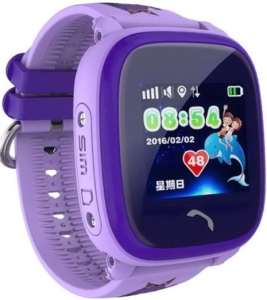 Умные часы Smart Baby Watch W9 (Purple)