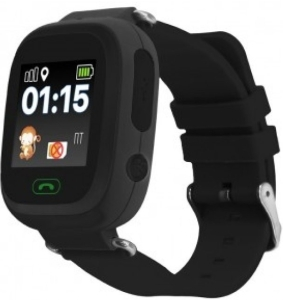 Умные часы Smart Baby Watch Q80 (Black)