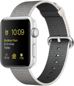 Умные часы Apple Watch Series 2 42mm Silver with Pearl Woven Nylon