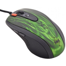 Мышь A4Tech XL-750BK-2 (Green-Black)