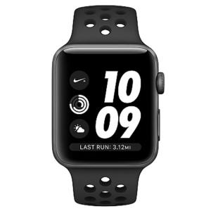 Умные часы Apple Series 3 38mm Aluminum Case with Nike Sport Band (Grey/Black)