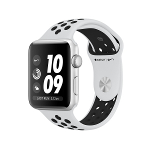 Умные часы Apple Series 3 38mm Aluminum Case with Nike Sport Band (Silver/Black)