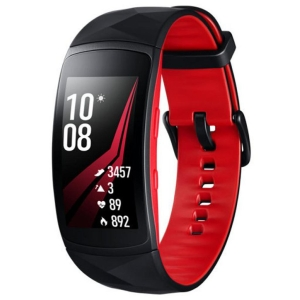 Фитнес-браслет Samsung Gear Fit2 Pro S (Black-Red)