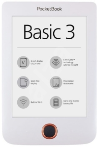 Электронная книга PocketBook 614 Basic 3 (White)