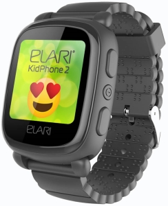 Умные часы Elari KidPhone 2 (Black)