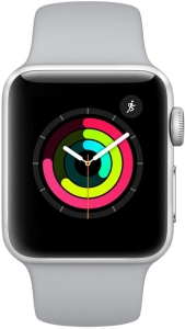 Умные часы Apple Watch Series 3 38mm Aluminum Case with Sport Band (Silver)