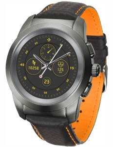 MyKronoz ZeTime Premium Regular (Black/Orange)