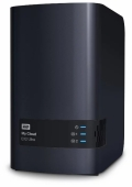 Сетевой накопитель Western Digital My Cloud EX2 Ultra (WDBVBZ0000NCH)