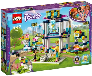 Конструктор Lego Friends 41338 Спортивная арена для Стефани
