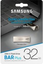 USB Flash Samsung BAR plus 32GB (Silver) (MUF-32BE3/APC)