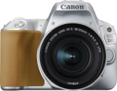 Цифровая фотокамера Canon EOS 200D Kit EF-S 18-55mm IS STM (Silver)