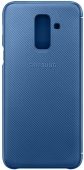 Чехол Samsung Wallet Cover для Samsung Galaxy A6 (Blue)