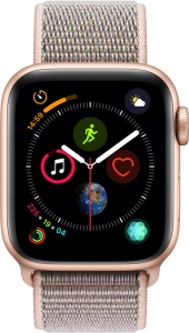 Умные часы Apple Watch Series 4 Sport 40mm Gold Aluminum Case with Pink Sand Sport Loop
