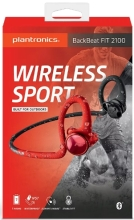 Наушники Plantronics BackBeat FIT 2100 (Black-Orange) (212203-99)