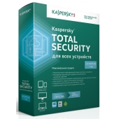 Антивирус Kaspersky Total Security Multi-Device (2-Device 1 year Base новая лицензия)