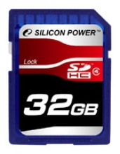 Карта памяти Silicon Power SDHC Card Class 4
