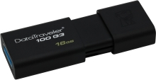 USB Flash Kingston DataTraveler 100 G3 16GB (DT100G3/16GB)