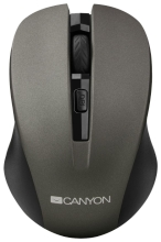 Мышь Canyon CNE-CMSW1G Grey USB
