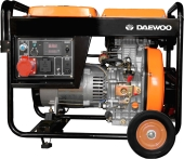 Генератор Daewoo Power DDAE 6000XE-3
