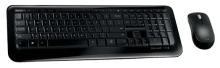 Клавиатура + мышь Microsoft Wireless Desktop 850 Black USB