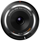 Объектив OLYMPUS 9mm f/8 Fish-Eye Body Cap