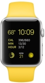 Умные часы Apple Watch Sport 42mm with Sport Band (Yellow)