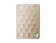 Внешний жёсткий диск Seagate Backup Plus Ultra Slim 2TB (Gold) (STEH2000201)