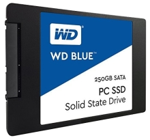 Внешний жёсткий диск Western Digital WD BLUE PC SSD 250 GB (WDS250G1B0A)